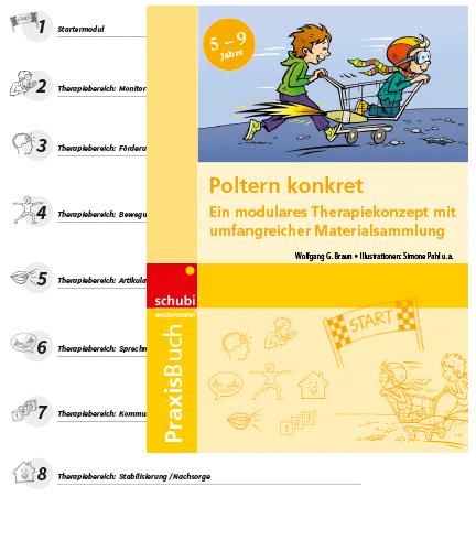 Cover vom Praxisbuch Poltern konkret