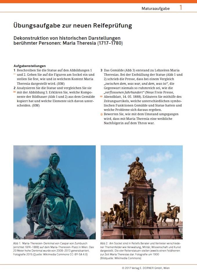 Arbeitsblatt zur Maturavorbereitung in Geschichte und Sozialkunde ...