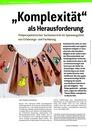 """Vorschaubild: Beitrag """"Komplexität"""" als Herausforderung  - Vielperspektivischer Sachunterricht im Spannungsfeld von Erfahrungs- und Fachbezug"""