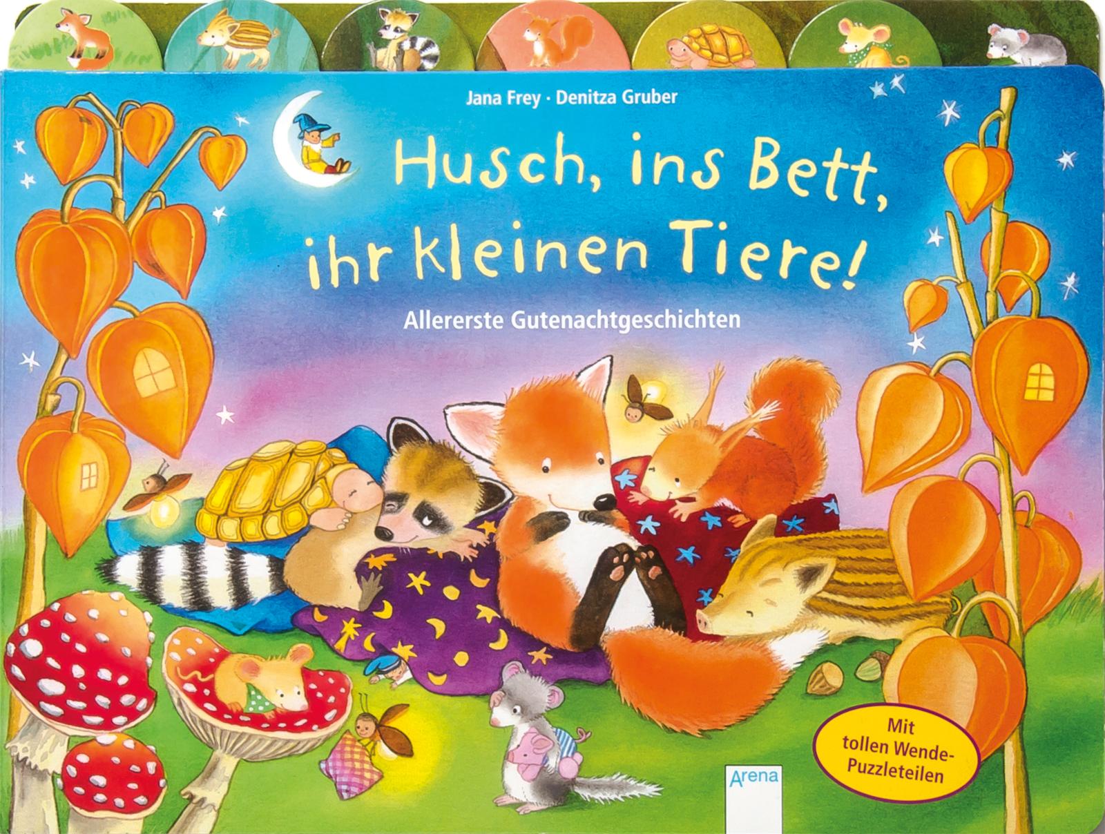 Husch Ins Bett Ihr Kleinen Tiere Arena Verlag
