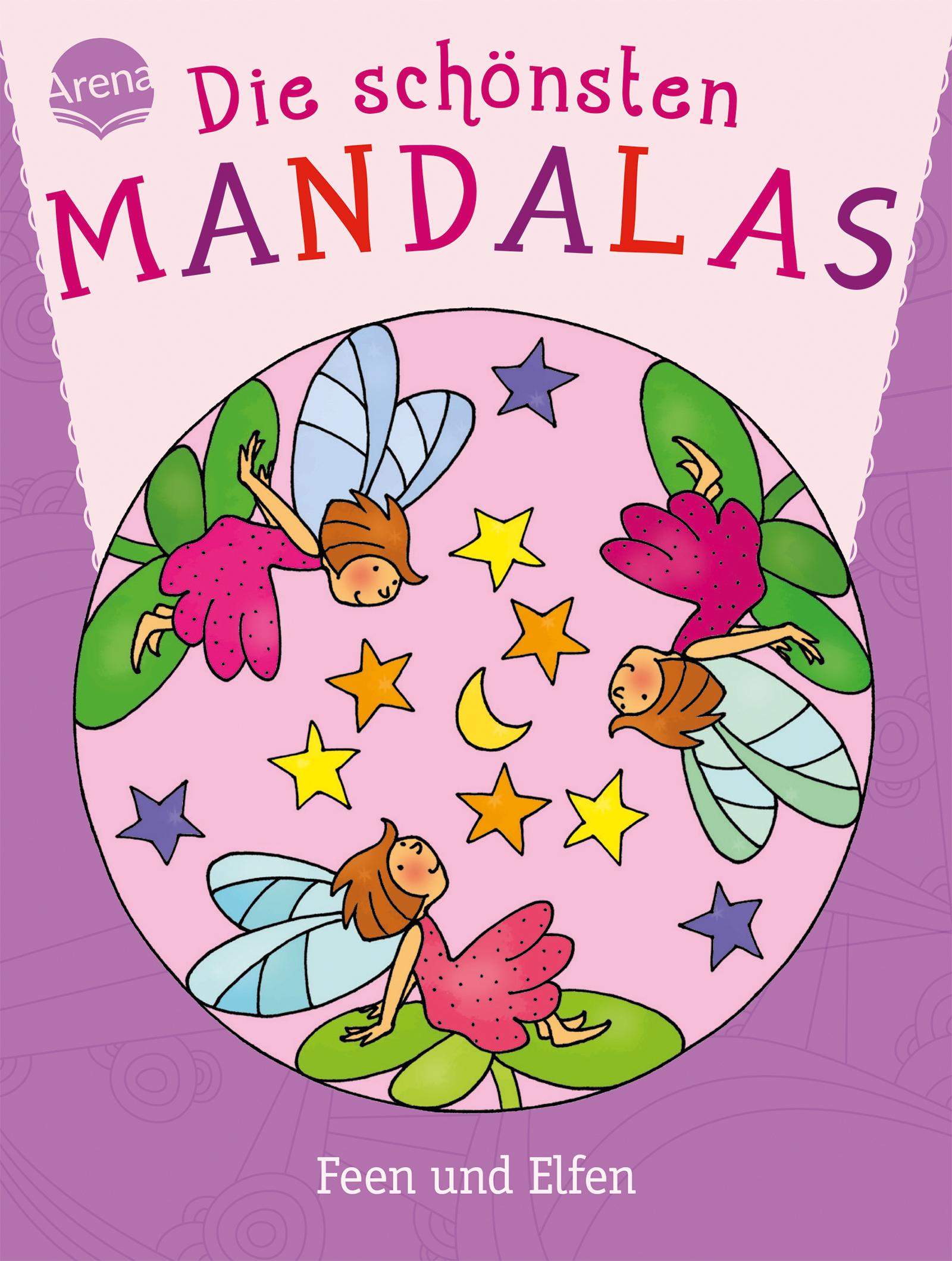 die schönsten mandalas feen und elfen  arena verlag