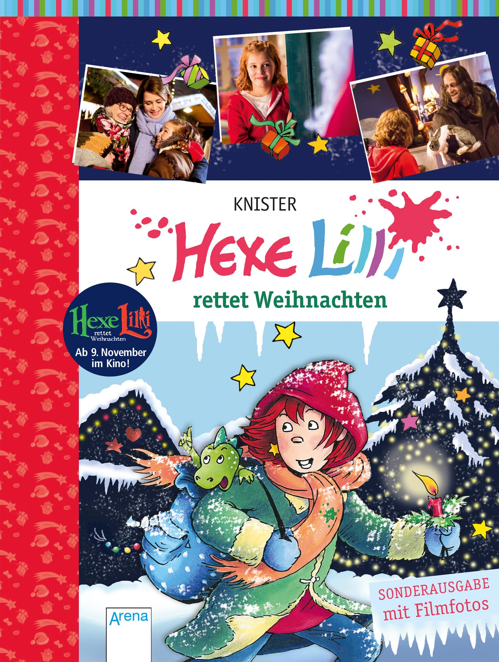Hexe Lilli rettet Weihnachten | ARENA Verlag