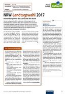 Vorschaubild: Download NRW-Landtagswahl 2017 - Auswirkungen für das Land und den Bund