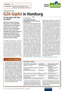 Vorschaubild: Download G20-Gipfel in Hamburg - Trump gegen den Rest der Welt?