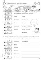 Inhaltsseite_Wie schreibt man das? Klasse 4 - Kopiervorlage