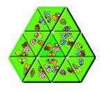 Spiel 3 aus SCHUBITRIX mini - Unterscheiden und verknüpfen