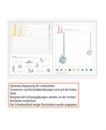 Schreiblehrgang Deutschschweizer Basisschrift für Linkshänder_Uebersicht