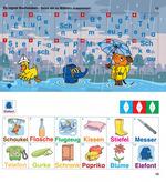 Es regnet Buchstaben - setze sie zu Wörtern zusammen!