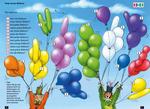 Viele bunte Ballons
