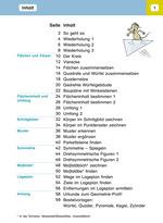 24610 Mein Lernheft Geometrie 4 - Inhaltsverzeichnis