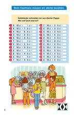 Beim Kaufmann müssen wir allerlei bezahlen Einmal 5 und 10 mit Addition und Subtraktion