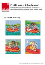 Beispiel Bildergeschichte aus Bilderbox 12123 Erzähl was - schreib was!