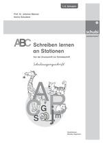 Auswahl Arbeitsblätter zu 15000 ABC Schreiben lernen an Stationen