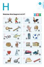 Welches Wort beginnt mit H? H h