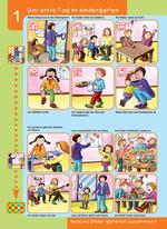 Der erste Tag im Kindergarten (LÜK-Übung)