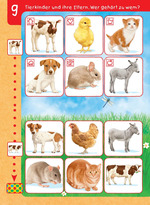Tierkinder und ihre Eltern. Wer gehört zu wem?