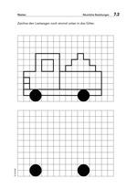 71464 Beispielseite Gitterbild Räumliche Beziehungen