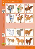 Kinder und ihre Ponys Welches Pony gehört zum Kind?