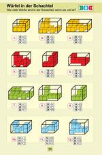 Würfel in der Schachtel Wie viele Würfel sind in der Schachtel, wenn sie voll ist?
