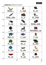 Rechtschreibspiele 1./2. Klasse_Inhaltsseite 2