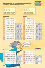 Dezimalbrüche mit Zehnerzahlen multiplizieren und durch Zehnerzahlen dividieren