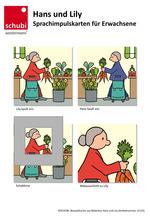 Beispielkarten 12125 Hans und Lily - Sprachimpulskarten