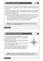 Karten und Pläne - Werkstatt 3./4. Schuljahr_Beispielseite 1