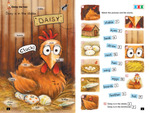 Daisy the hen Match the pictures and the words
