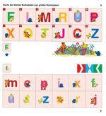 Suche den kleinen Buchstaben zum großen Buchstaben!