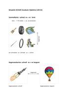 Beispiel für Sammelkarte und Gegensatzkarten