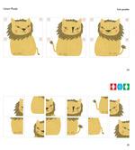 Löwen-Puzzle