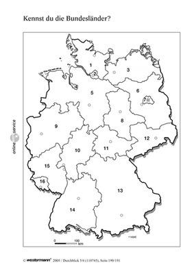 7 1 kennst du die bundesl nder deutschland und europa verlage der westermann gruppe. Black Bedroom Furniture Sets. Home Design Ideas