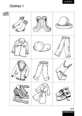 clothes wort und bildkarten verlage der westermann gruppe. Black Bedroom Furniture Sets. Home Design Ideas