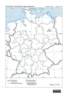 Deutschland Bundeslander Regierungsbezirke Lernando De