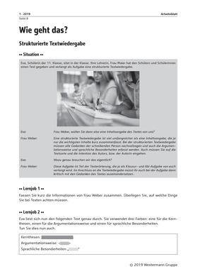 Wie Geht Das Ausgabe 12019 Spectra Verlag