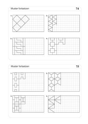 muster fortsetzen geometrische muster verlage der westermann gruppe. Black Bedroom Furniture Sets. Home Design Ideas