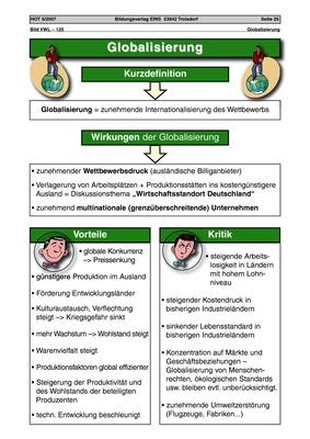 Globalisierung - Arbeitsblatt: Verlage der Westermann Gruppe
