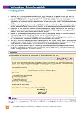 Tipps Zum Formulieren Von Texten Bewerbungsschreiben Ausgabe 11