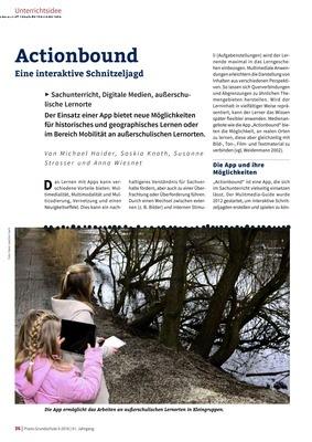 Actionbound - Eine interaktive Schnitzeljagd: Verlage der Westermann ...