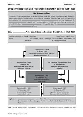 Entspannungspolitik und Friedensbereitschaft in Europa 1969-1989 ...