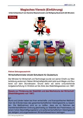Magisches Viereck - Unterrichtsentwurf: Verlage der Westermann Gruppe