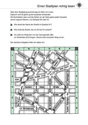 Einen Stadtplan richtig lesen - Orientierung auf Plänen: Verlage der ...
