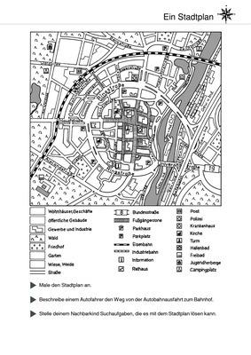 ein stadtplan plan lesen verlage der westermann gruppe
