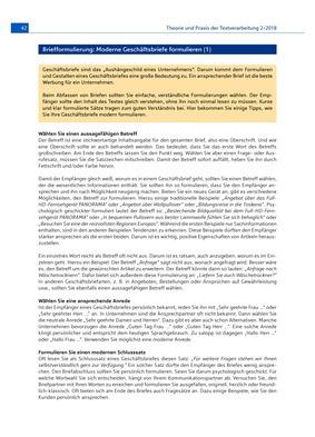 Moderne Geschäftsbriefe Formulieren Winklers Verlag