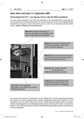 Zehn Jahre nach dem 11. September 2001 - Arbeitsblatt: Verlage der ...
