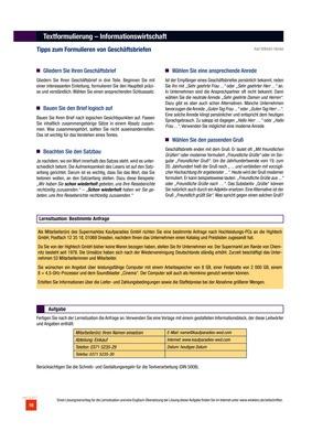 Tipps Zum Formulieren Von Geschäftsbriefen Aufgabenblatt Winklers