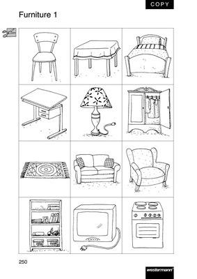furniture at home wort und bildkarten verlage der westermann gruppe. Black Bedroom Furniture Sets. Home Design Ideas