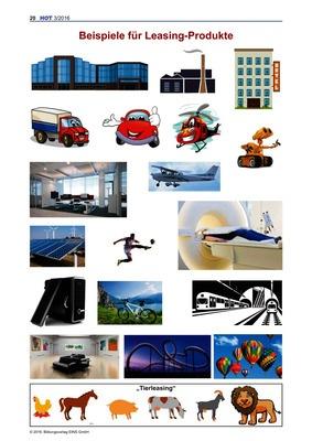 Beispiele für Leasing-Produkte - Arbeitsblatt: Bildungsverlag EINS