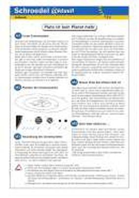 Pluto ist kein Planet mehr - - ein Arbeitsblatt über den Aufbau des ...