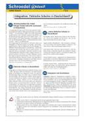 Integration: Türkische Schulen in Deutschland? - - ein Arbeitsblatt ...